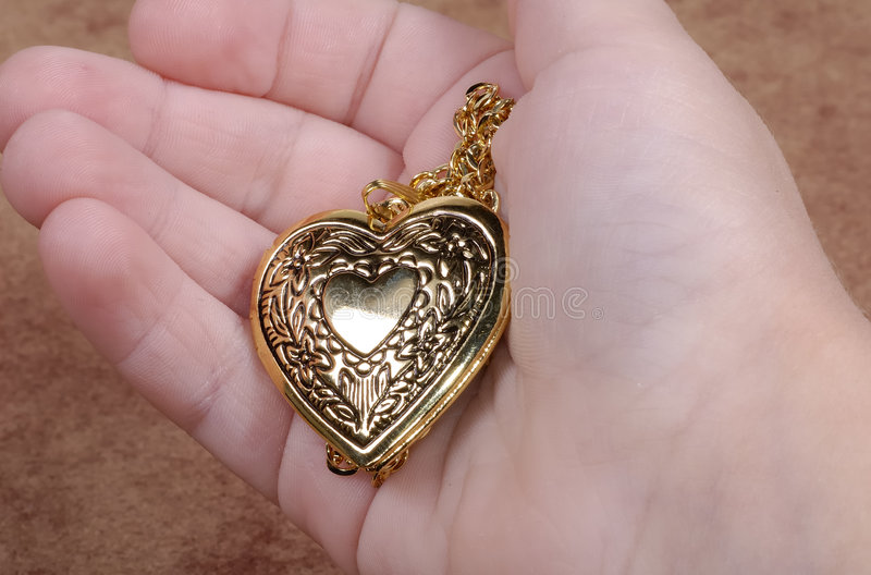 Het Medaillon van het hart royalty-vrije stock foto's
