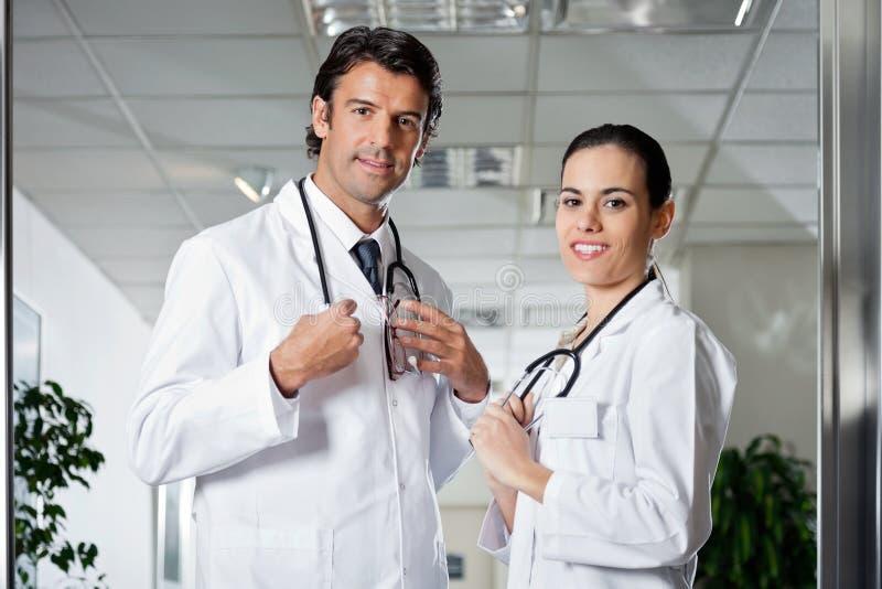 Het medische Glimlachen van Beroeps royalty-vrije stock fotografie