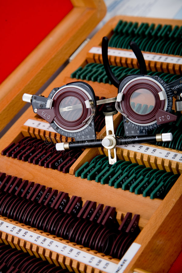 Het medische instrument van de oftalmologie royalty-vrije stock afbeelding