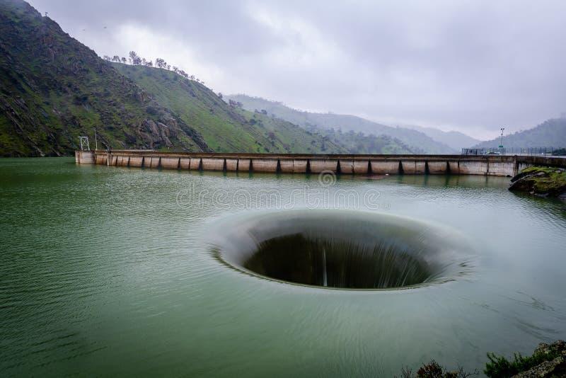 Het Meer Berryessa Glory Hole stock afbeeldingen
