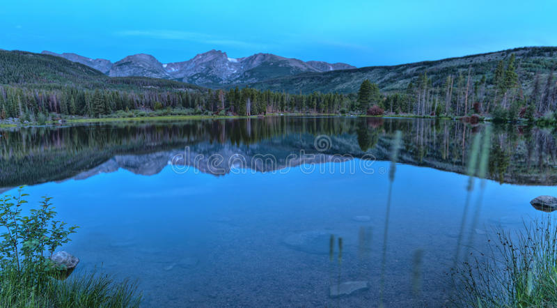 Het Meer Colorado van Sprague royalty-vrije stock afbeelding