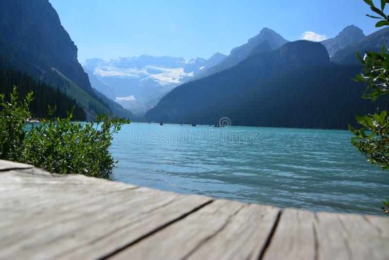 Het meer louise Canada royalty-vrije stock fotografie