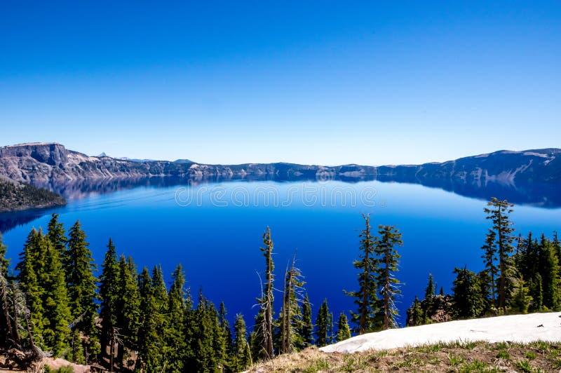 Het Meer Oregon van de krater stock afbeeldingen