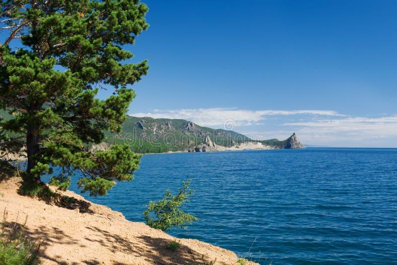 Het meer van Baikal stock fotografie