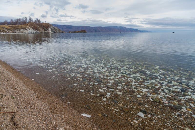 Het meer van Baikal royalty-vrije stock foto's