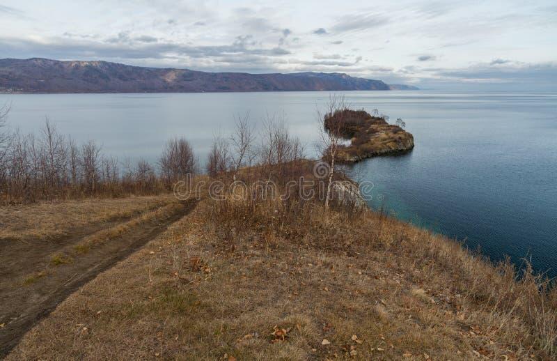 Het meer van Baikal royalty-vrije stock afbeelding
