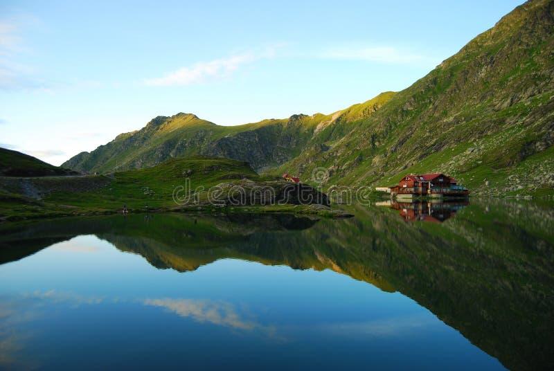 Het meer van Balea stock illustratie