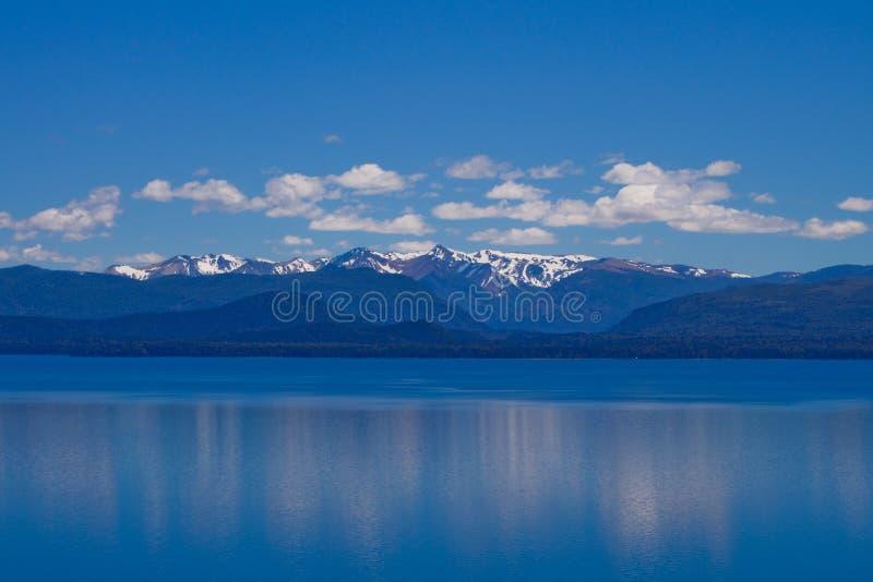 Het Meer van Bariloche royalty-vrije stock foto's