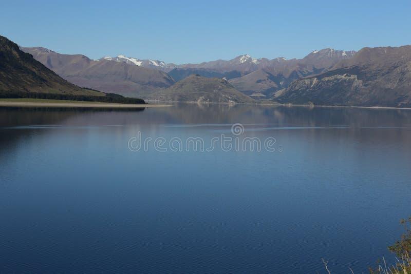 Het Meer van bergen royalty-vrije stock foto