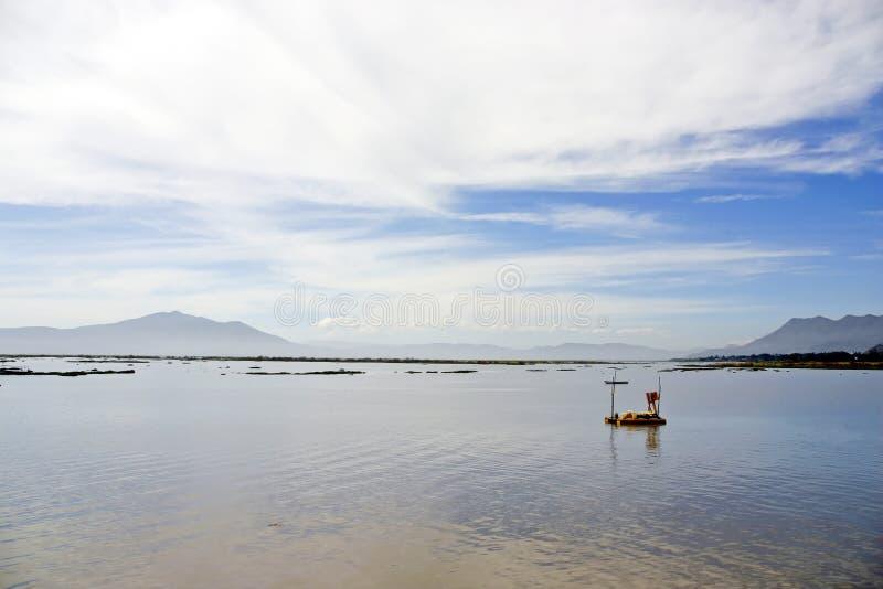 Het meer van Chapala, Ajijic, Mexico stock foto