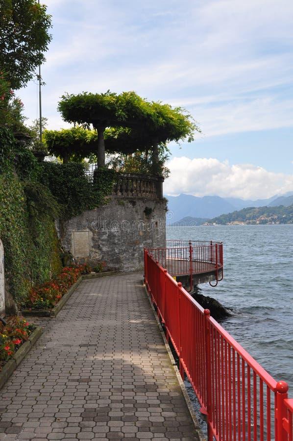 Het Meer van Como stock foto