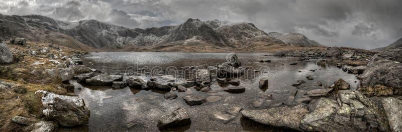 Het Meer van de berg royalty-vrije stock afbeelding