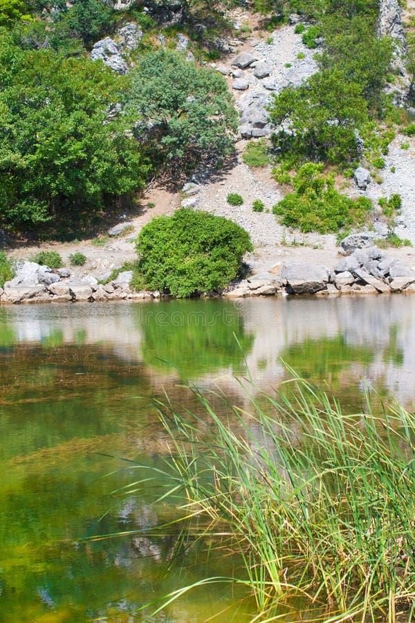 Het meer van de Krim stock fotografie