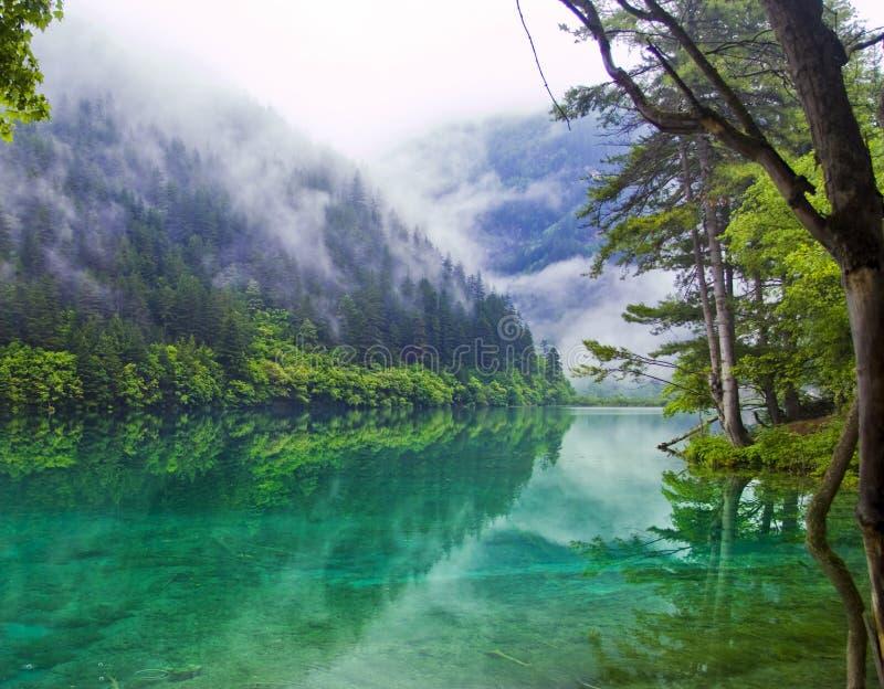 Het meer van de spiegel royalty-vrije stock foto