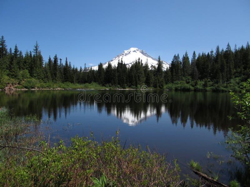 Download Het Meer van de spiegel stock foto. Afbeelding bestaande uit berg - 29513454