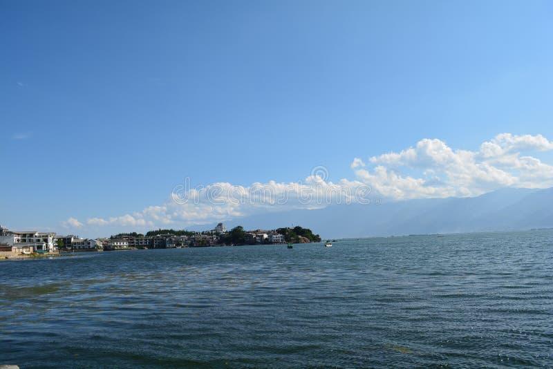 Het meer van Erhai royalty-vrije stock fotografie