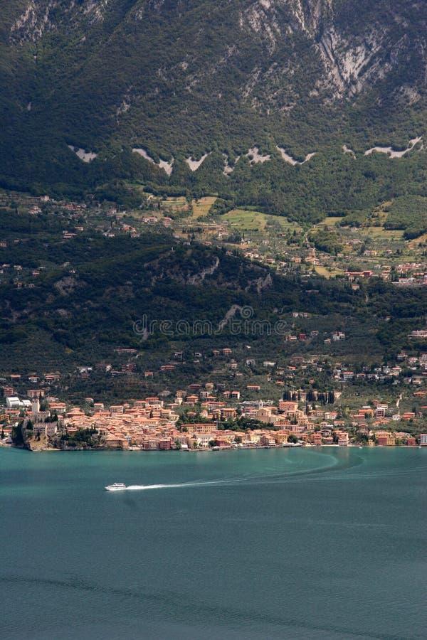 Het meer van Garda royalty-vrije stock afbeelding