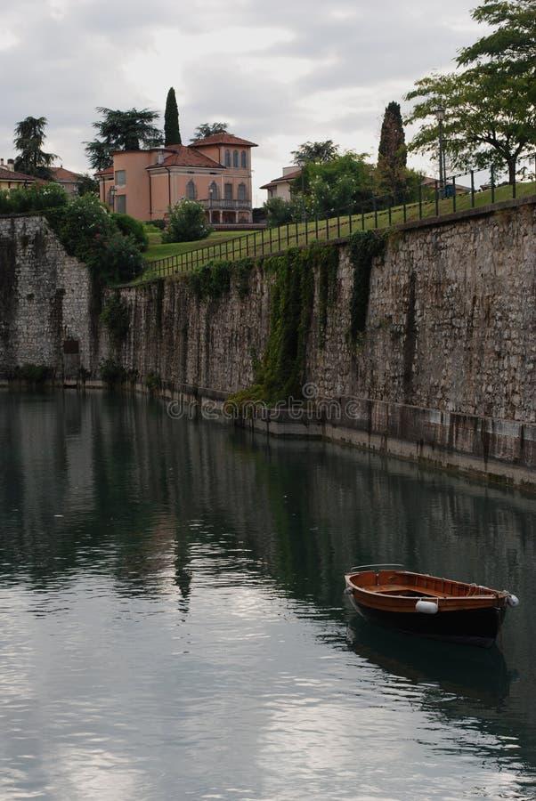 Het meer van Garda, Italië stock fotografie