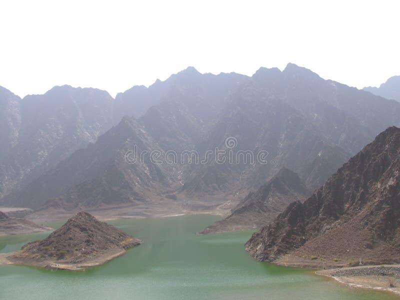 Het Meer van Hatta royalty-vrije stock foto's
