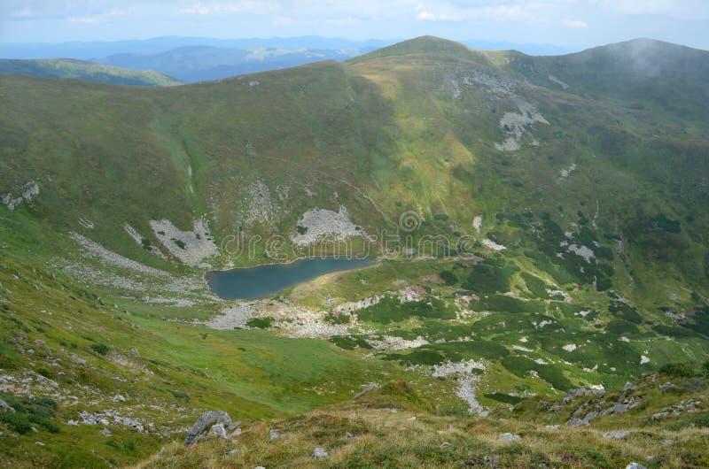 Het meer van het hoogland stock foto's