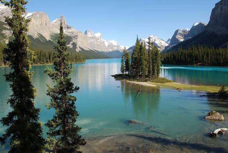 Het meer van Magline royalty-vrije stock foto