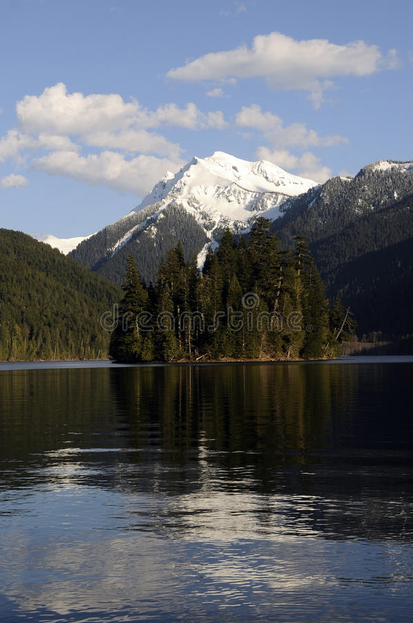 Het Meer van Packwood, de staat van Washington stock foto's