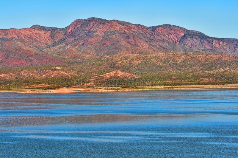 Het Meer van Roosevelt stock foto