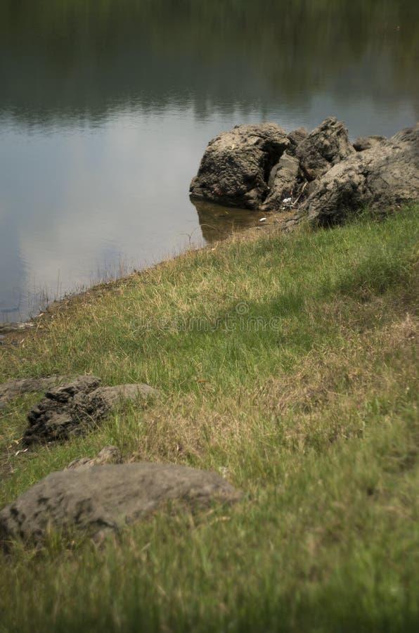 Het meer van Situpatenggang, Ciewedey, Zuiden van Bandung stock foto's