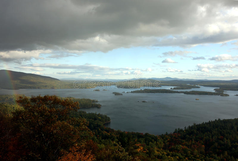 Het meer van Squam stock afbeelding