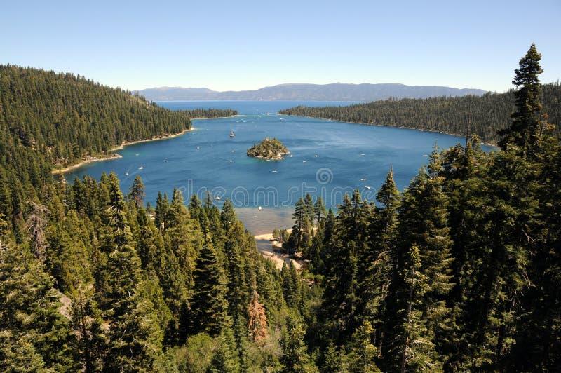 Het meer van Tahoe stock foto's