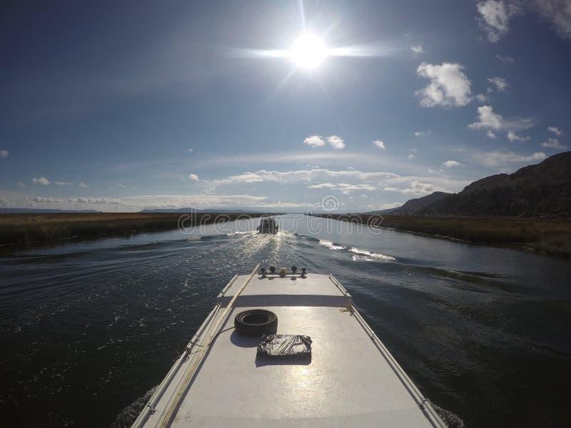 Het meer van Titicaca royalty-vrije stock fotografie