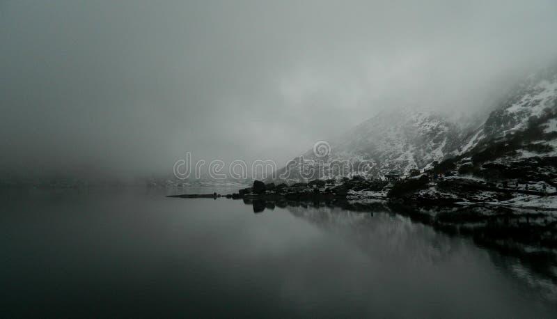 Het meer van Tsomgo royalty-vrije stock fotografie