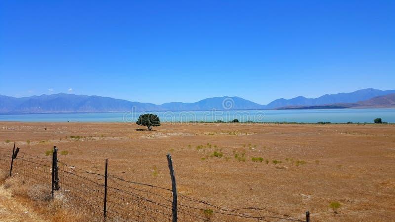 Het Meer van Utah royalty-vrije stock afbeelding