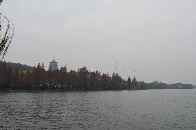 Het Meer van het Westen van Hangzhou stock afbeelding
