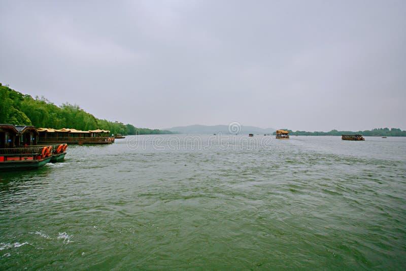 Het Meer van het Westen van Hangzhou stock fotografie