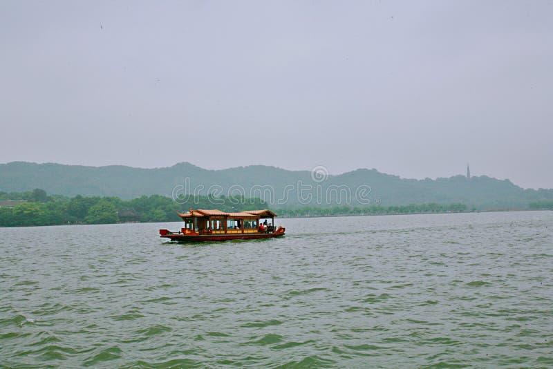 Het Meer van het Westen van Hangzhou royalty-vrije stock foto's