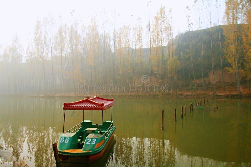Het Meer van Zhengzhoudonglin stock afbeeldingen