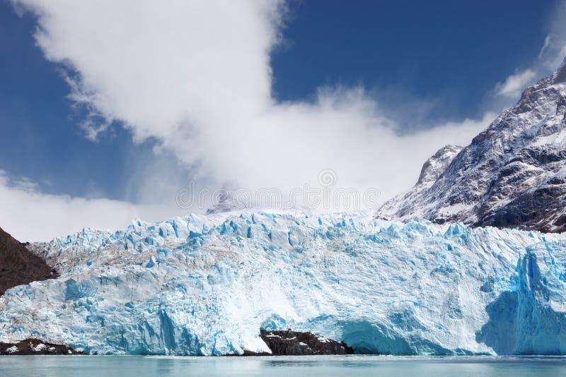 Het meerargentino van de Spegazzinigletsjer, Patagonië, Argentinië royalty-vrije stock afbeelding