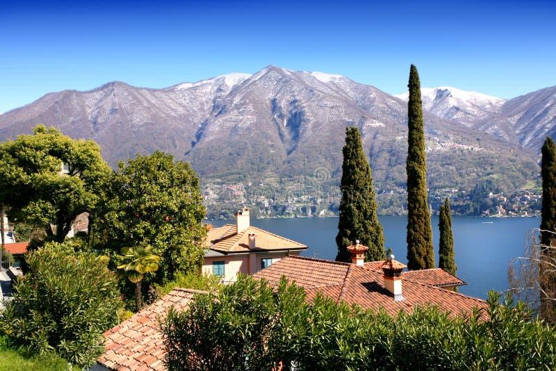 Het meerlandschap van Como royalty-vrije stock fotografie