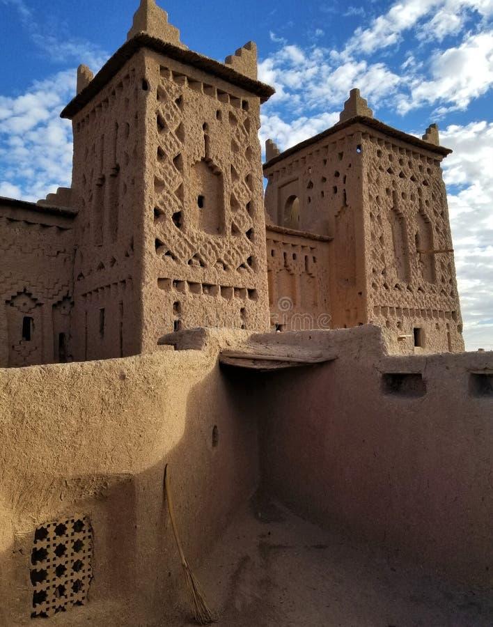 Het meest gebegeerde Morocco's kasbah is dit de 17de eeuwwonder stock foto