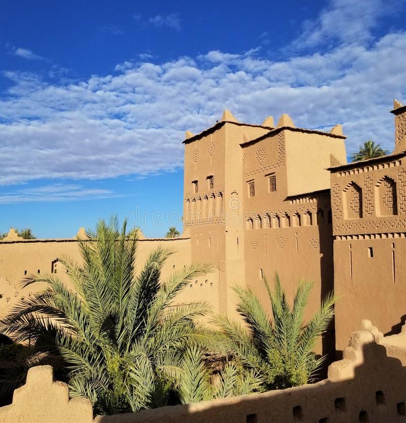 Het meest gebegeerde Morocco's kasbah is dit de 17de eeuwwonder stock fotografie