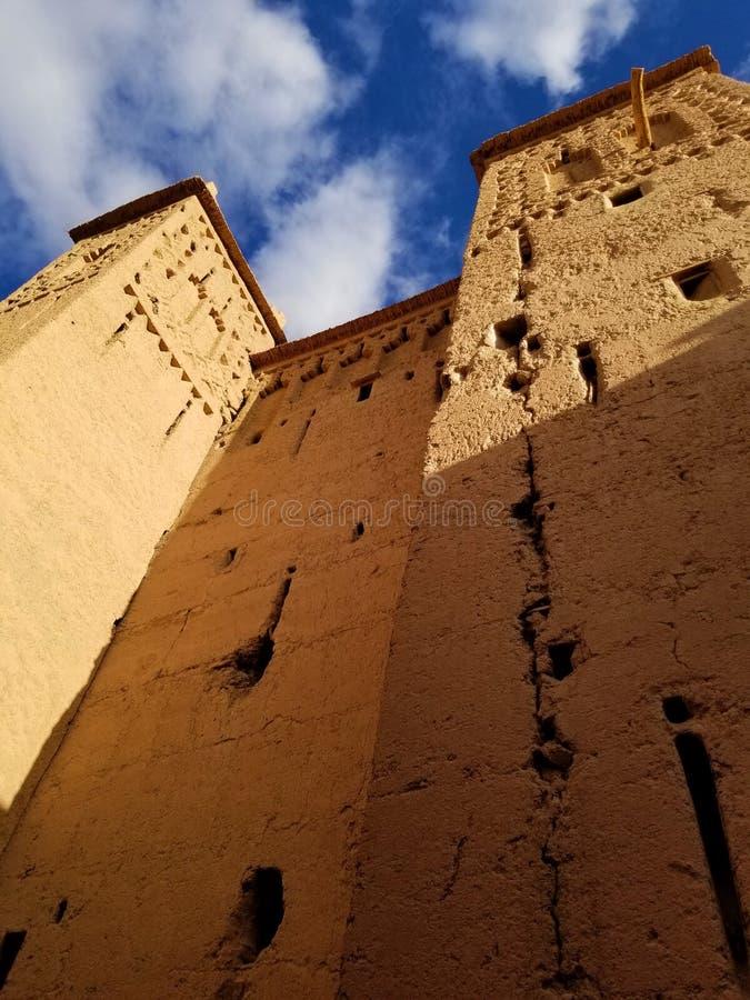 Het meest gebegeerde Morocco's kasbah is dit de 17de eeuwwonder royalty-vrije stock afbeeldingen