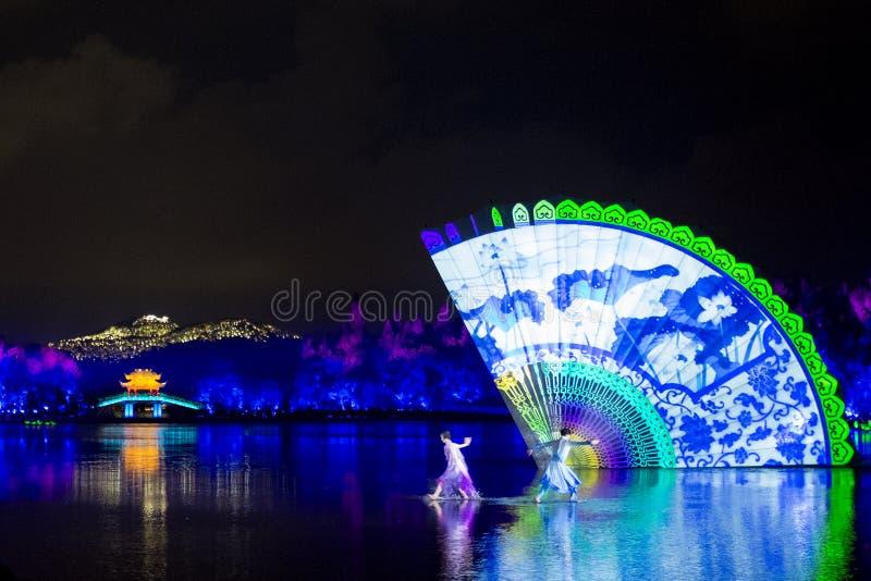 Het meest gedenkwaardig is Hangzhou royalty-vrije stock afbeelding