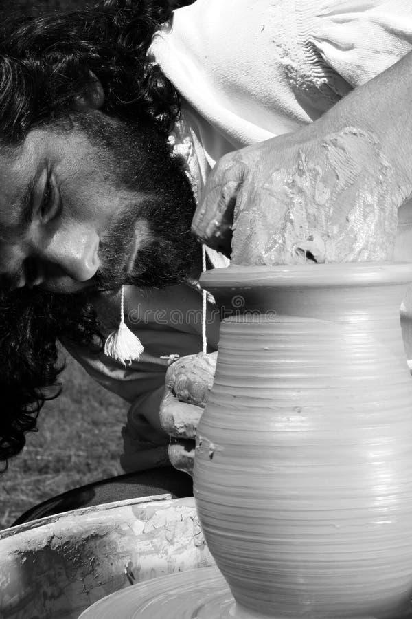 Het meesterwerk van een pottenbakker royalty-vrije stock foto