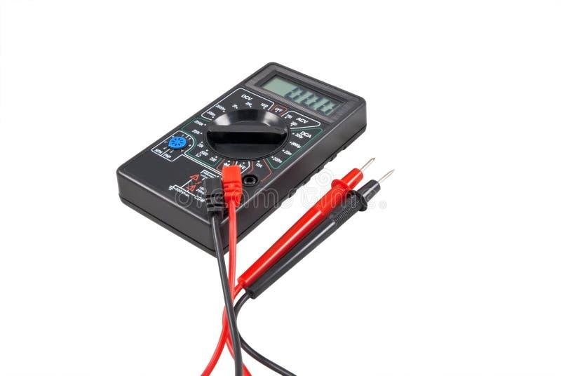 Het meetapparaat van het voltage stock fotografie