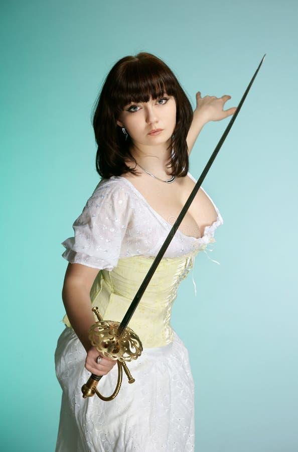 Het meisje royalty-vrije stock afbeelding