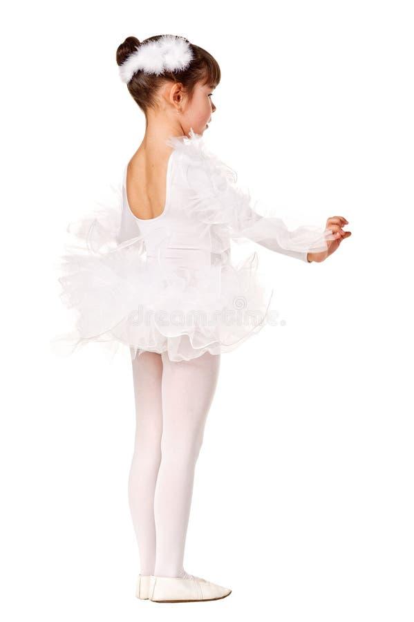 Het meisje in de dans stelt stock foto's