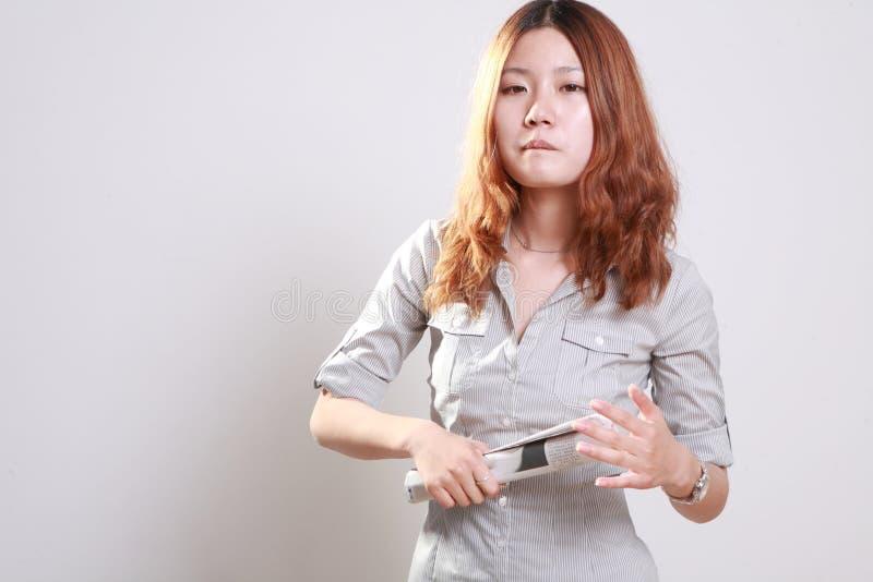 Het meisje van Asain royalty-vrije stock afbeelding