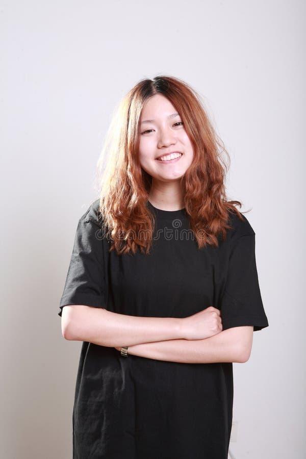 Het meisje van Asain stock fotografie
