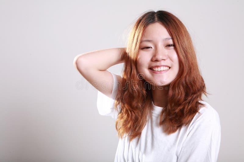 Het meisje van Asain stock foto's